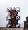Fairmont Display Unit in Provincial Teak Finish by Woodsworth