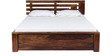 Woodinville Queen Size Bed in Provincial Teak Finish by Woodsworth
