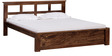 Raliegh Queen Size Bed in Provincial Teak Finish by Woodsworth