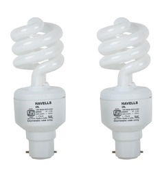 Havells White 15W CFL Light - Set of 2