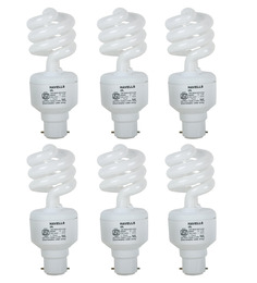 Havells White 15W CFL Light - Set of 6