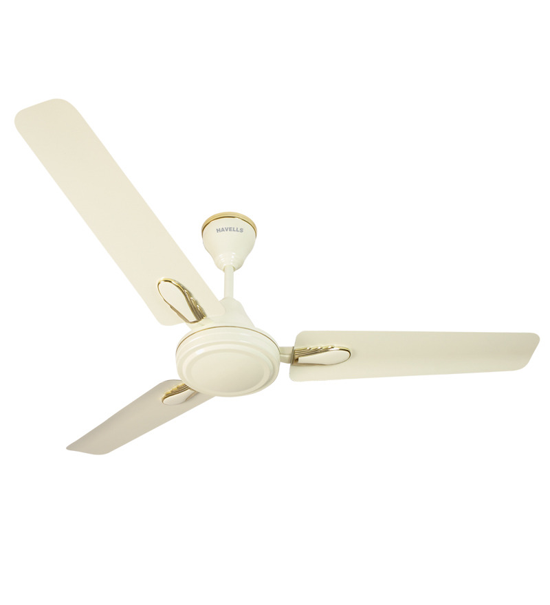 Havells Spark Deco Ceiling Fan Ivory  available at Pepperfry for Rs.1819