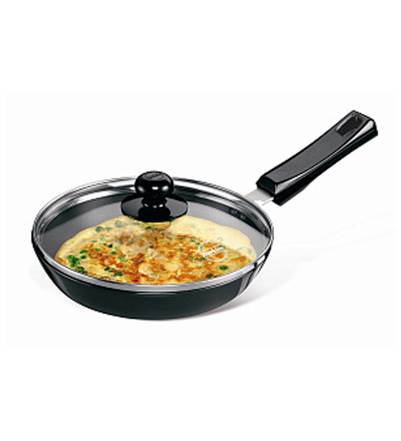 Hawkins Futura Hard Anodized Frying Pan with Glass Lid  available at Pepperfry for Rs.979