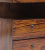 Handcrafted Double Drawer BedSide Table by VarEesha