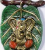 Durja Ganesh Idol in Multicolor by Mudramark