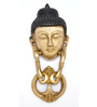 Handecor Buddha Face Brass 3 x 1.5 x 8 Inch Door Knocker