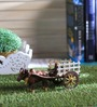 Aguado Bullock Cart Showpiece in Multicolor by Amberville