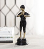 Agassiz Flute Boy Figurine in Multicolor by Amberville