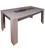 Hanna Dining Table in Ceruse Oak Finish by Gami