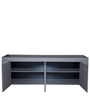Hanna Sideboard with Four Doors in Ceruse Oak Finish by Gami