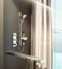 Hansgrohe Axor Citterio E Chrome Brass 106.7 x 22.9 x 10.2 Inch Hand Shower