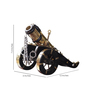 Slane Army Bomber Collectible in Black by Amberville