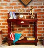 Graham Console Table in Passion Mahogany Finish by Amberville