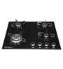 Hardwyn Toughened Glass 4 Burner Hob