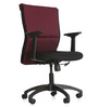 Harmony Series D Mid Back Office Chair in Maroon colour by BlueBell Ergonomics