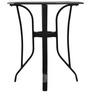 Harry End Table in Black Colour by @home