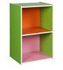 Haru Two Tier Book Shelf in Multi Colour by Mintwud
