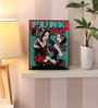 Hashtag Decor Wooden 8 x 10 Inch Punk Girl Framed Digital Print