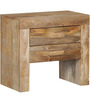 Ontario Bed Side Table in Natural Finish by Woodsworth