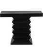 Greendale Console Table in Espresso Walnut Finish with Woodsworth