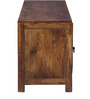 Hudson Solid Wood Entertainment Unit in Provincial Teak finish by Woodsworth