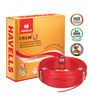 Havells Life Line Plus S3 HRFR Red 90 Metres Cable