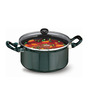 Hawkins Futura Non-Stick Hard Anodized 3 L Cook n Serve Stew Pot with Glass Lid