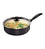 Hawkins Futura Non Stick 3.25 L Saute Pan with Glass Lid