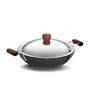 Hawkins Futura Hard 2.5 L Frying Non Stick Pan with Steel Lid