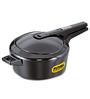 Hawkins Futura Black Aluminium 4 L Pressure Cooker