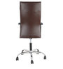 Haxton High Back Office Chair in Brown Colour by The Furniture Store