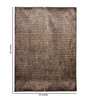 HDP Beige & Brown Viscose 92 x 64 Inch Hand Made Indo Nepal Tibetan Carpet