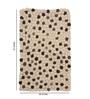 HDP Beige & Brown Wool 32 x 20 Inch Reversible Felt Ball Bed Side Carpet