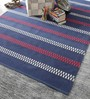 Jenga Area Rug in Blue by CasaCraft