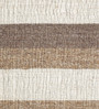 HDP Brown Wool 80 x 56 Inch Hand Woven Flat Weave Area Rug