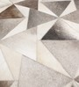 HDP Grey Leather 80 x 56 Inch Hand Made Carpet