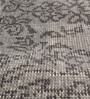 HDP Grey Wool 80 x 56 Inch Indian Hand Made Knotted Carpet