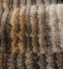 HDP Multicolour Polyester 58 x 35 Inch Hand Made Tufted Shaggy Carpet
