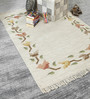 HDP Multicolour Wool 68 x 48 Inch Hand Made Flat Weave Carpet