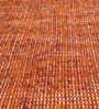 HDP Orange Wool 80 x 56 Inch Indian Hand Made Knotted Carpet