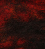 HDP Red Wool 78 x 55 Inch Indian Hand Knotted Over Dye Carpet