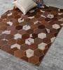 Sussex Carpet in Tan and Brown by Amberville