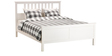 Henri Queen Size Bed in White Colour by Asian Arts
