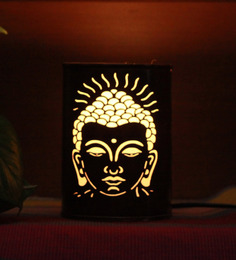 Height of Designs Brown Iron Lord Budha Night Light