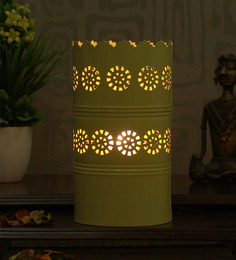 Height Of Designs Yellow Iron Arc Reactor Table Lamp