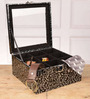 Height of Designs MDF Wood & Leatherette Black Accessory Organiser