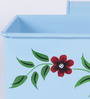 Height of Designs Blue Iron Rectangular Tub Planter