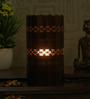 Height of Designs Brown Iron Horizontal Cutwork Table Lamp