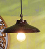 Height of Designs Brown Iron 40 W LED Pendant