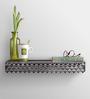 Height of Designs Multicolour Iron Elegant Lotus Wall Shelf